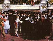 Edouard Manet Masked Ball at the Opera
