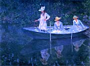 Claude Monet The Boat in Giverny