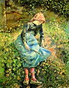 Camille Pissarro The Shepherdess