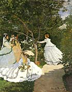 Claude Monet Women in the Garden