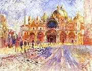 Pierre Auguste Renoir Piazza San Marco, Venice
