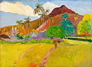 Paul Gauguin Tahitian Landscape
