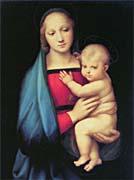 Raphael The Madonna Del Granduca canvas prints