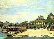 Pierre Auguste Renoir The Pont des Arts