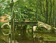 Paul Cezanne The Bridge at Maincy