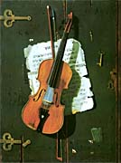 John Frederick Peto The Old Violin canvas prints