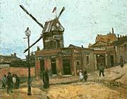 Vincent Van Gogh Le Moulin de la Galette