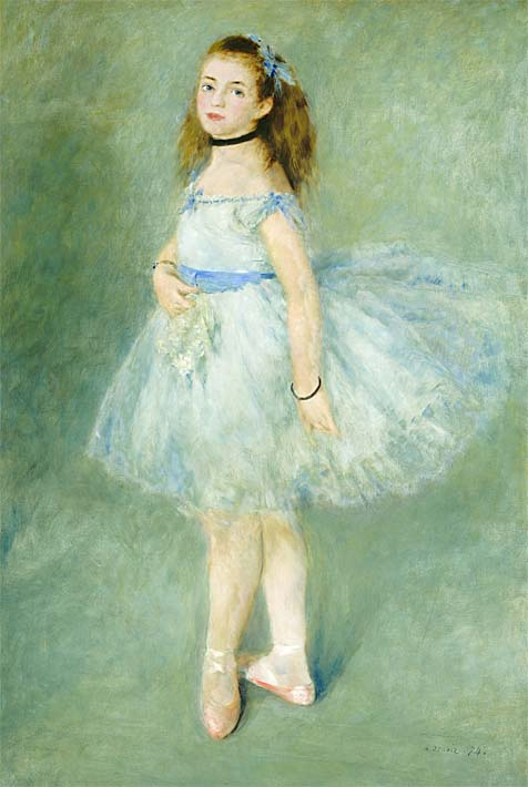 Pierre Auguste Renoir The Dancer stretched canvas art print