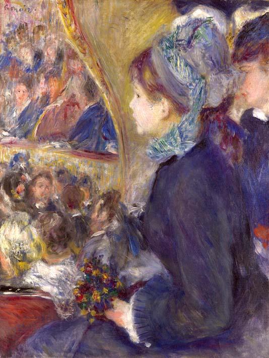 Pierre Auguste Renoir La Premiere Sortie stretched canvas art print