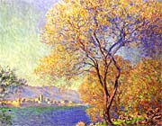 Claude Monet Antibes Seen From La Salis canvas prints