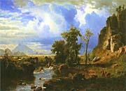 Albert Bierstadt Platte River, Nebraska