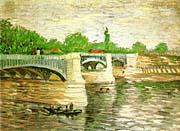 Vincent Van Gogh Pont de la Grande Jatte