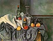 Paul Cezanne Still Life With Peppermint Bottle canvas prints