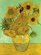Vincent Van Gogh Still Life: Vase with Twelve Sunflowers