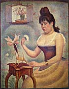 Georges Seurat Young Woman Powdering Herself canvas prints