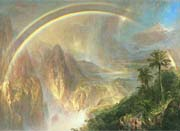 Frederic Edwin Church Rainy Season in the Tropics (detail)