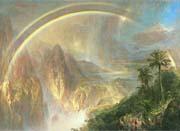 Frederic Edwin Church Rainy Season In The Tropics Detail canvas prints