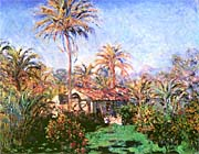 Claude Monet Palm Trees At Bordighera canvas prints