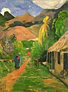 Paul Gauguin Street in Tahiti