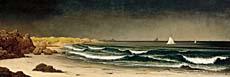 Martin Johnson Heade Approaching Storm Beach Near Newport canvas prints