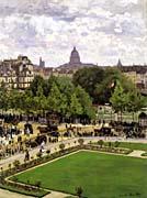 Claude Monet Garden Of The Princess Louvre canvas prints
