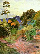 Paul Gauguin Martinique Landscape