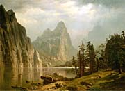 Albert Bierstadt Merced River, Yosemite Valley