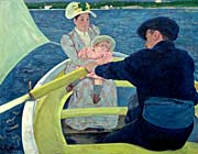 Mary Cassatt The Boating Party