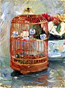 Berthe Morisot The Cage canvas prints