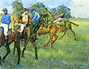 Edgar Degas Race Horses canvas prints