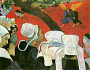 Paul Gauguin Vision After the Sermon: Jacob Wrestling with the Angel