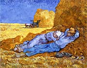 Vincent van Gogh Noon: Rest from Work