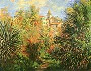 Claude Monet Gardens At Bordighera canvas prints