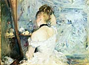 Berthe Morisot Lady At Her Toilette canvas prints