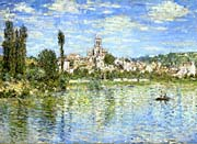 Claude Monet Vetheuil in Summer