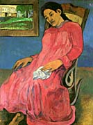 Paul Gauguin The Dreamer canvas prints