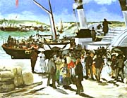 Edouard Manet The Departure of the Folkestone Boat