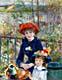 Pierre-Auguste Renoir Painting - Two Sisters on the Terrace
