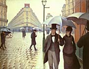 Gustave Caillebotte Paris, A Rainy Day