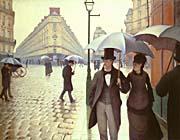 Gustave Caillebotte Paris, A Rainy Day