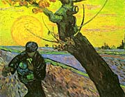Vincent Van Gogh The Sower 1888 canvas prints