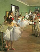 Edgar Degas The Dance Class canvas prints