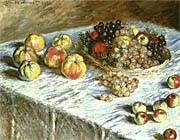 Claude Monet Still Life: Apples and Grapes
