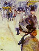 Pierre Auguste Renoir Place Clichy