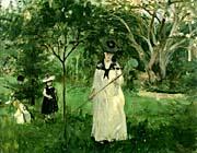 Berthe Morisot Chasing Butterflies canvas prints
