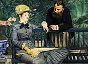 Edouard Manet In the Conservatory