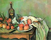 Paul Cezanne Still Life With Onions canvas prints