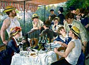 Pierre Auguste Renoir The Luncheon of the Boating Party