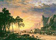 Albert Bierstadt The Oregon Trail