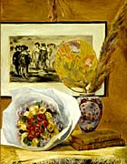 Pierre Auguste Renoir Still Life with Bouquet